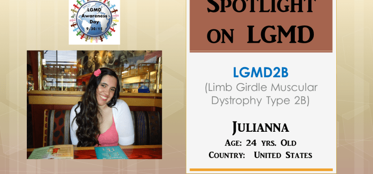INDIVIDUAL WITH LGMD:  Julianna