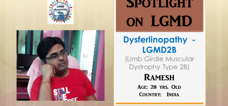 INDIVIDUAL WITH LGMD:  Ramesh