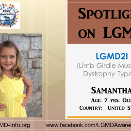 INDIVIDUAL WITH LGMD:  Samantha