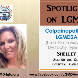 INDIVIDUAL WITH LGMD:  Shelley