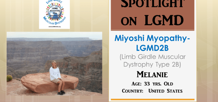INDIVIDUAL WITH LGMD:  Melanie