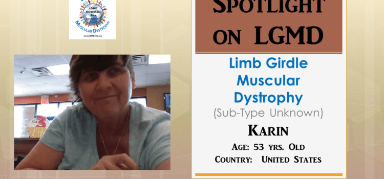 INDIVIDUAL WITH LGMD:  Karin