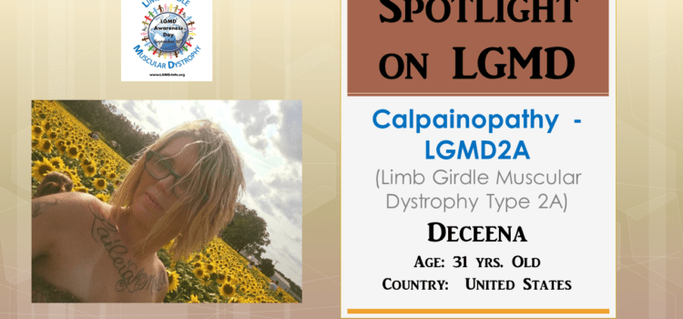INDIVIDUAL WITH LGMD:  Deceena