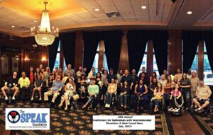 The Speak Foundation 11th Annual Conference for Individuals with Neuromuscular Disorders & their Loved Ones @ Westin Buckhead Atlanta