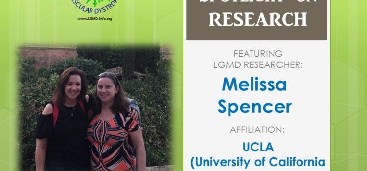 LGMD Researcher:   Melissa Spencer