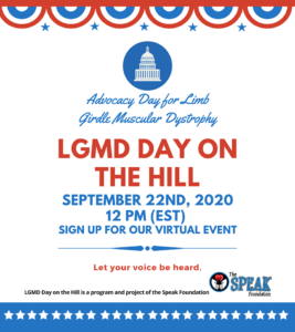 LGMD Day on the Hill 2020 @ Virtual